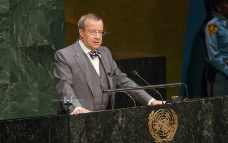President Ilves at the United Nations World Conference on Indigenous Peoples, 22 September 2014