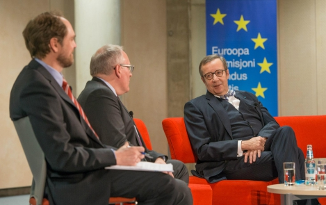 News in pictures: President Ilves and Frans Timmermans discussed the challenges that the European Union is facing
