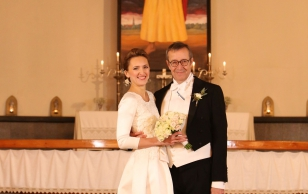 Wedding of Toomas Hendrik Ilves and Ieva Kupce