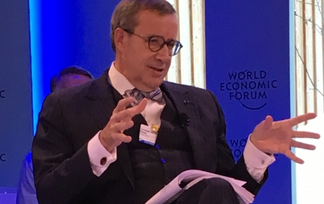 President Ilves in Davos: countries must work together to combat cyber attacks