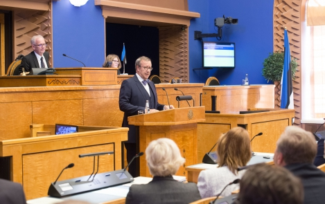 President Ilves in the Riigikogu: The parliamentary system is the fairest and most reliable