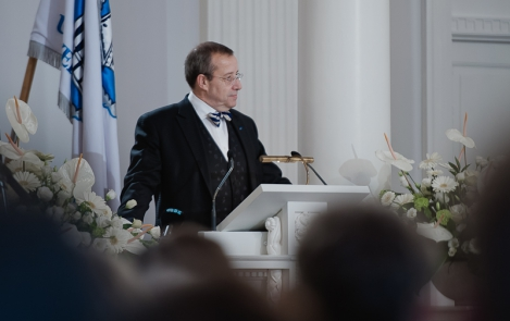 President of the Republic at the Estonian State Decorations Ceremony University of Tartu Assembly Hall, 23 February 2012