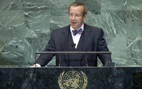 Address by the President of Estonia, Toomas Hendrik Ilves, to the 67th Session of the United Nations General Assembly at the UN Headquarters in New York, 26 September 2012