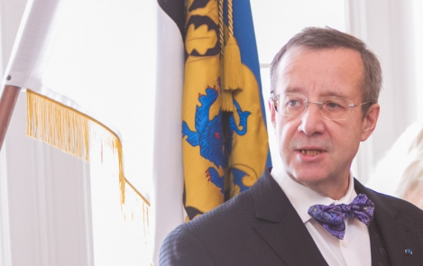 "President Toomas Hendrik Ilves At the awarding of Estonian state decorations ""Estonia thanks"" Kadriorg Art Museum, 23 February 2013"