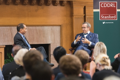 Discussion between President Ilves and Francis Fukuyama