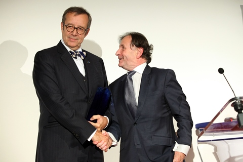 Aspen Prague award to President Ilves