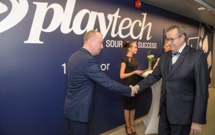 Opening of the new office of Playtech