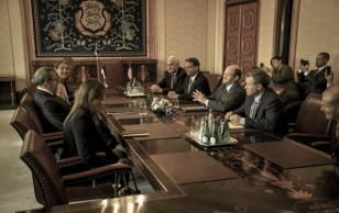 Meeting with members of the Senate and House of Representatives of the United States of America